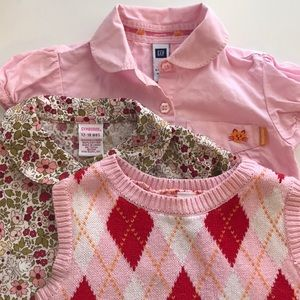 Other - Toddler Bundle of 3 tops and vest